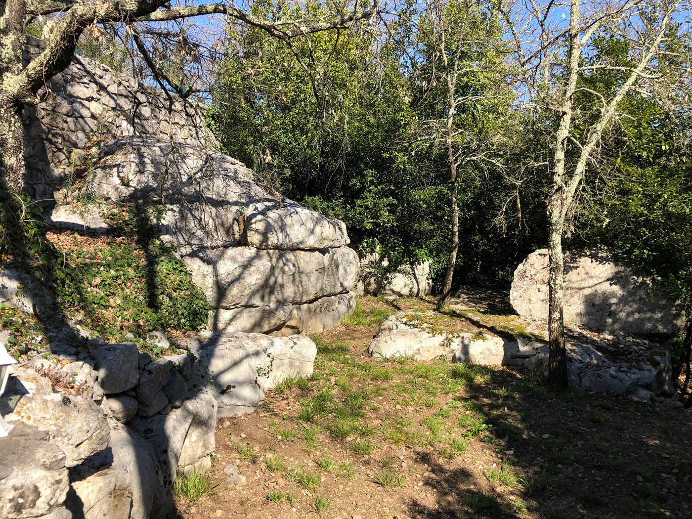 Domaine de la barnerie vu depuis mazet jardin